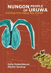 Obálka knihy: Nungon People of Uruwa. Drawings from Papua New Guinea